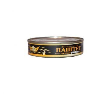 Консервы ВИНИСА ТМ Паштет шпротный 160 гр
