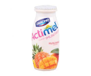 Десерты, йогурты Актимель мультифрукт 1,5% пэт 100 г