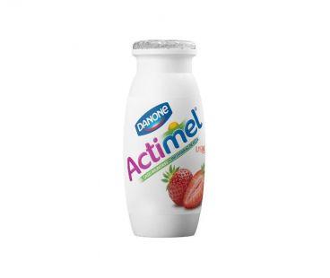 Десерты, йогурты Актимель клубника 1,5% пэт 100 г