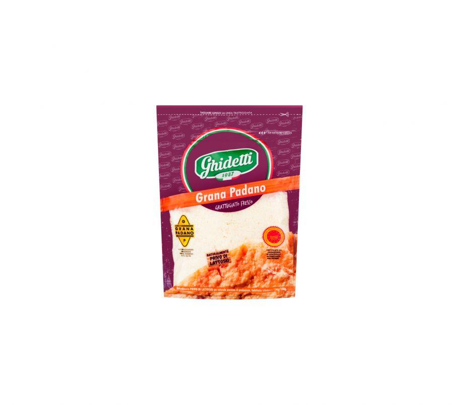 Ghidetti Сыр Грана Падано тертый 42% 10мес из коровьего молока 90г