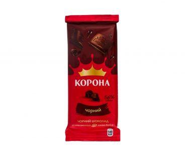 Корона Шоколад черный  85г