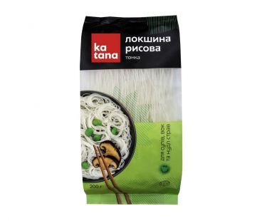 Katana Лапша рисовая тонкая 200г