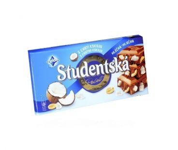 ШБ Шоколад Studentska Кокос 180 гр