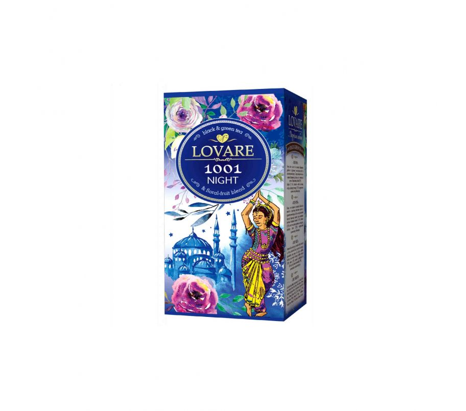 Чай Ловаре Lovare 1001 Ночь пакетированный 24х2 г