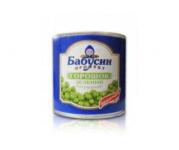 Консервы овощные Бабусин продукт Горошек ж/б 420г