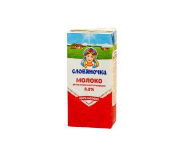 Молоко Словяночка Молоко ультрапастеризованное 3.2%