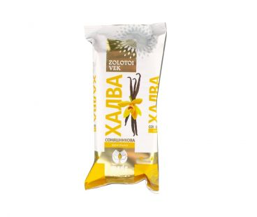 Золотой век Халва конфета Ванильная