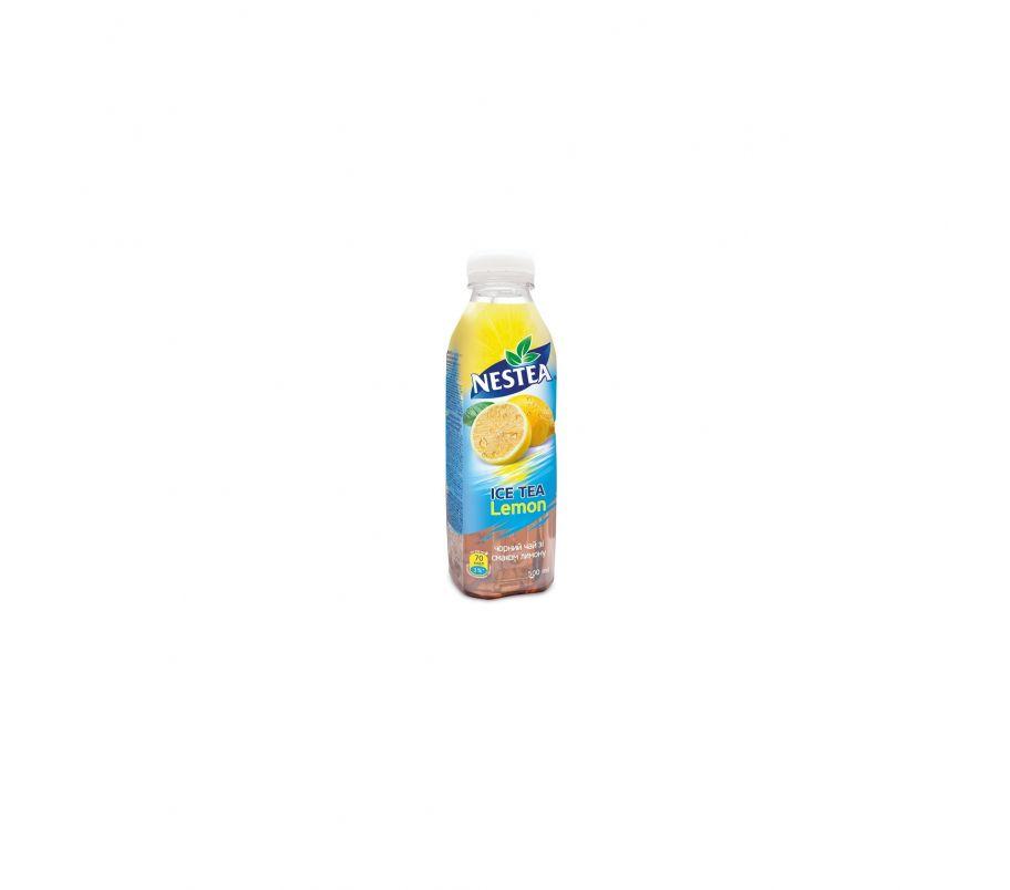 Nestea Холодный черный чай с лимоном 0,5 л