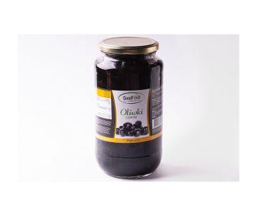 Маслины, оливки ЯН Маслины черные 720/425 ГУДФУД