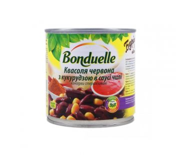 Bonduelle Фасоль красная с кукурузой в соусе ж/б 430г