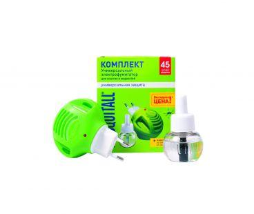 Москитол - Фумигатор + Жидкость от комаров