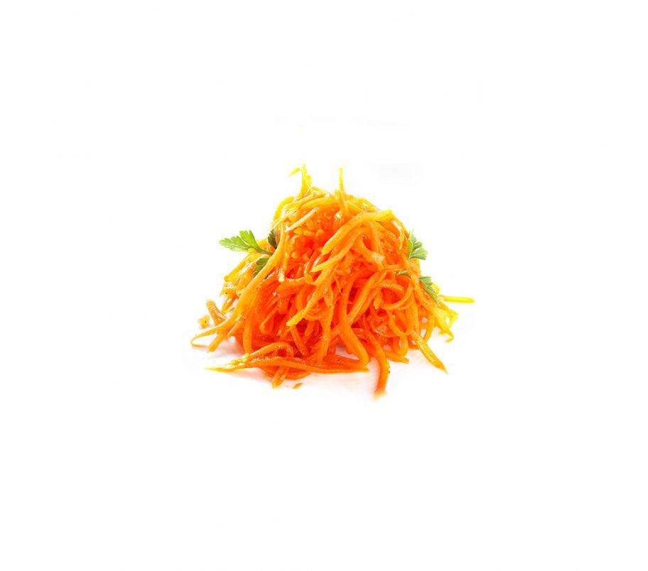 Морковь по-корейски 1 кг (ведро)