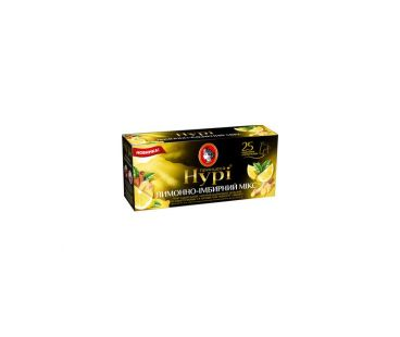 Чай черный Чай Принцесса Нури Лимонно-Имбирный 25Х