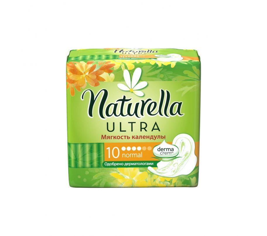 Прокл гигиен NATURELLA ULTRA 4кап 10шт