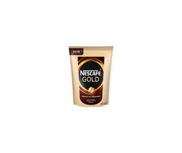 Кофе растворимый Nescafe gold пак 60 гр