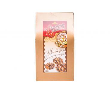Корисна кондитерська печенье с шоколадом в шоколадной глазури 130г