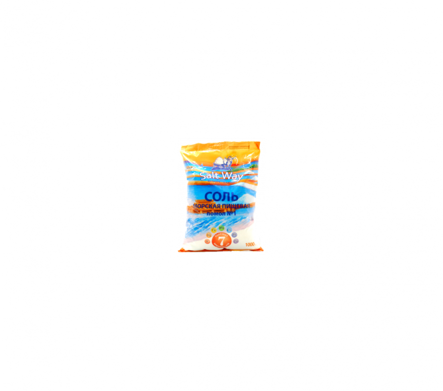 Соль морская п/п 1 кг