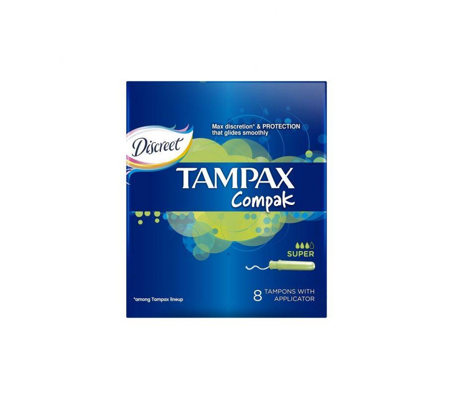 Тампон TAMPAX Compak 8шт
