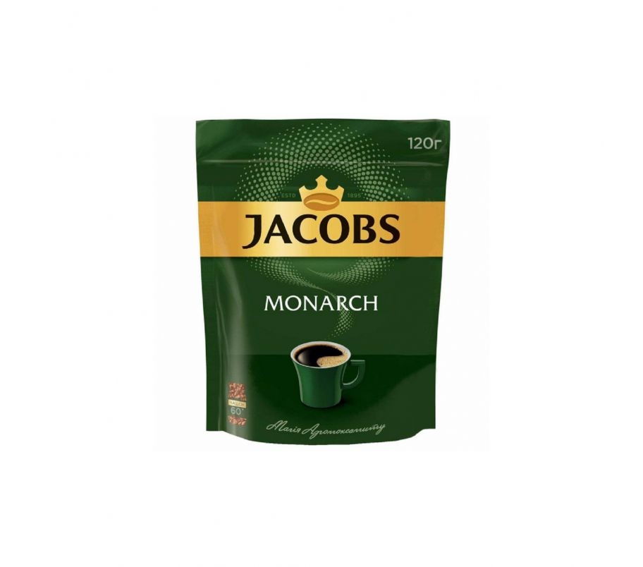 Кофе растворимый Jacobs Monarch эконом.пакет 120г