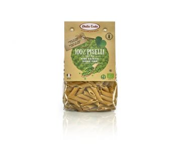 Dalla Costa Изделия макаронные Пенне из зеленого гороха 250г
