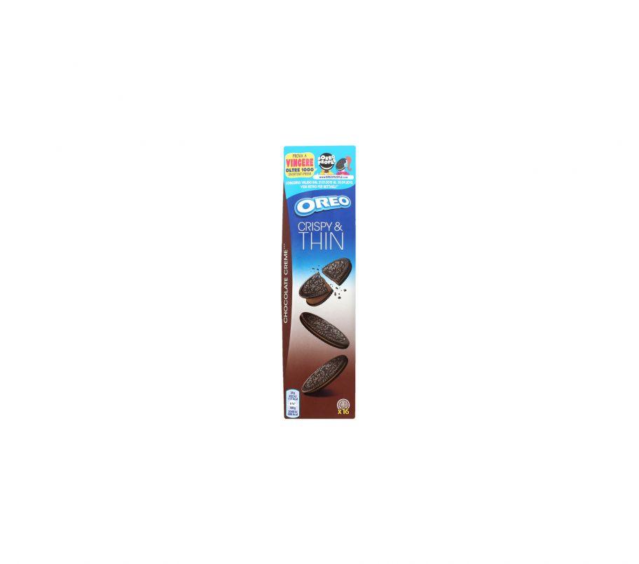 Oreo печенье THINS с какао 96г