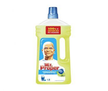 Средства для мытья полов MR PROPER жидкий 1л для полов и стен