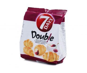 7 Days Круассан Мини Double Ваниль-вишня  65г