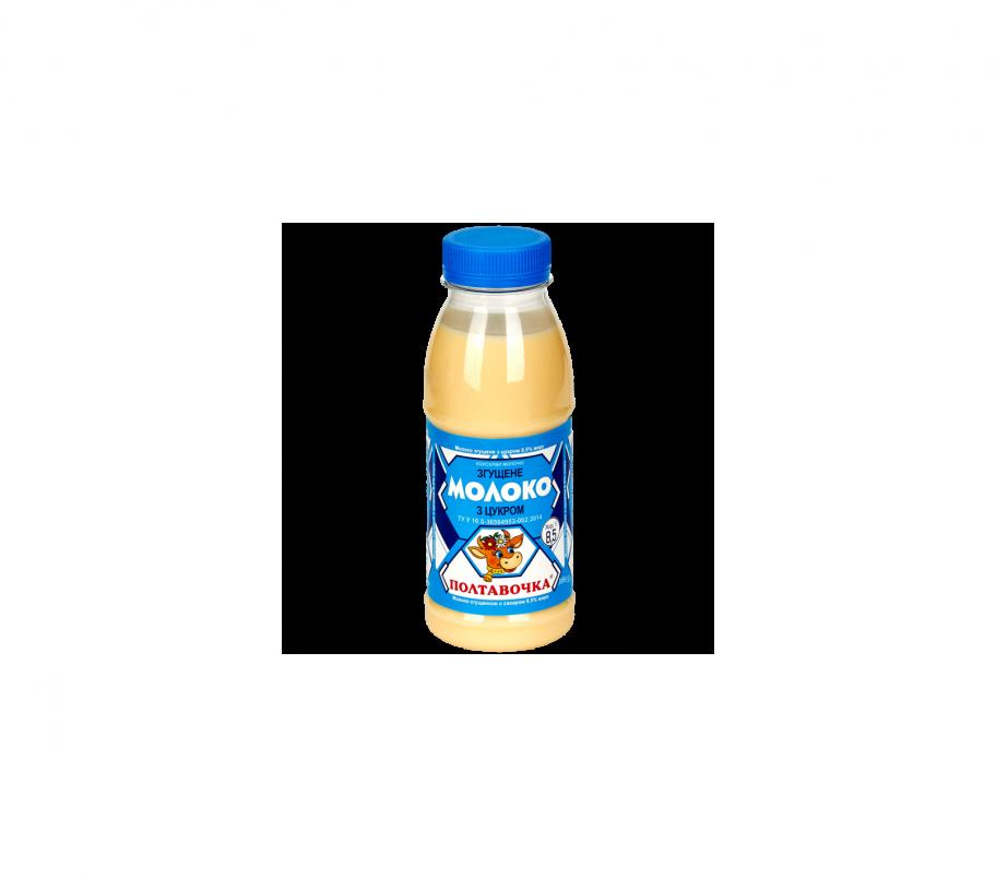 """Молоко сгущенное """"Полтавочка"""" 380 8,5 % жир (пэт бутылка)"""