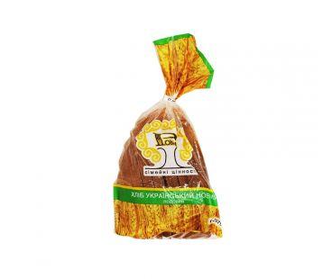 Хлеб РОМА Хлеб Украинский нарезной половинка 375г