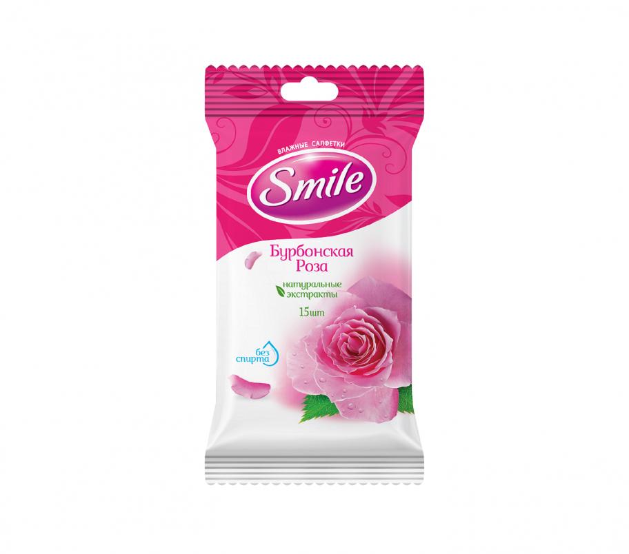 SMILE Daily Бурбонская роза 15 шт