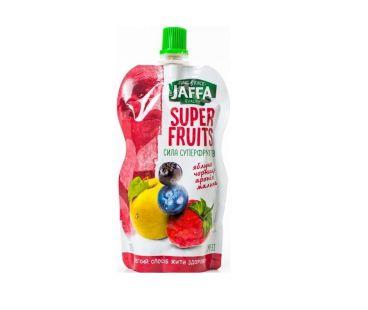 Jaffa Смузи яблоко-черника-черноплод.рябина-малина 120г