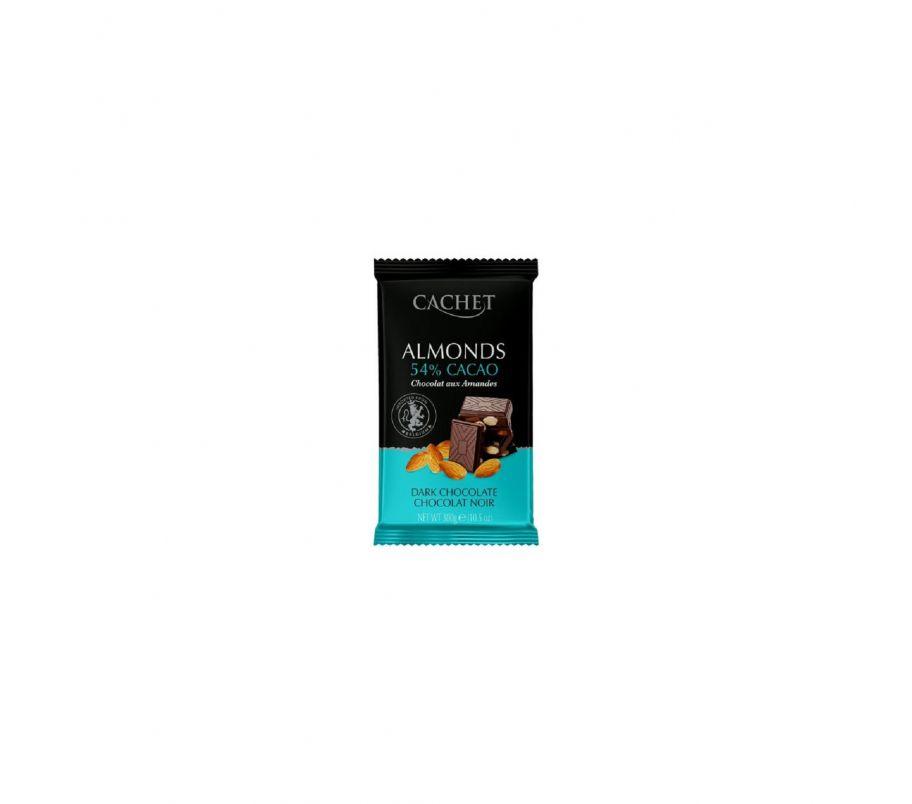 ШБ Шоколад Cachet 54% с миндалем 300гр Бельгия