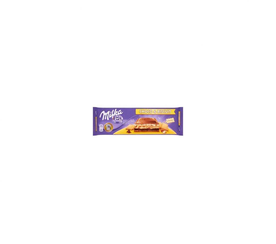 Milka Шоколад крем-печенье 300г