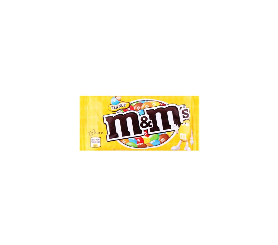 M&M`s Драже с арахисом 45г