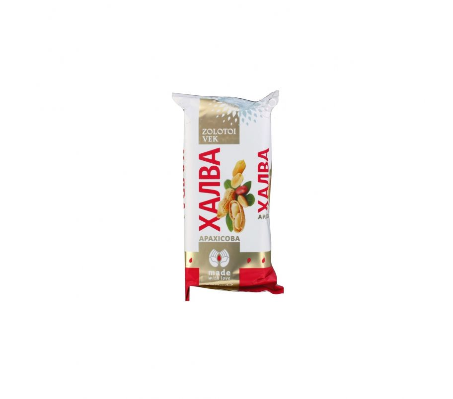 Золотой век Халва конфета арахисная