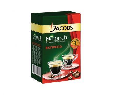 Чай, кофе, какао Кофе молотый Jacobs Monarch Espresso, 230г