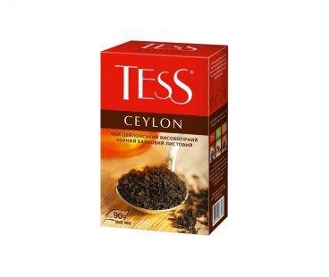 Чай Чай черный рассыпной Тесс TESS Ceylon 90 г