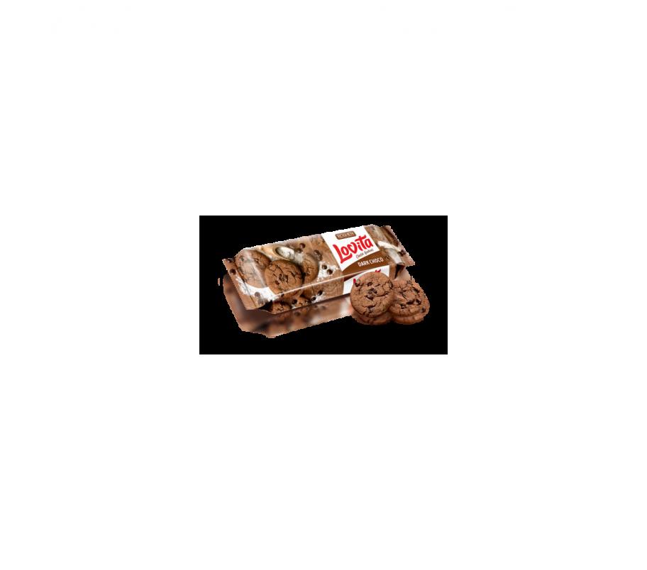 Roshen Печенье Lovita Classic с какао и кусочками глазури (Рошен)150г
