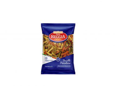 Pasta Reggia Изделия макаронные Фузилли трехцветные 0,5кг