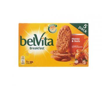 BelVita Печенье с медом и орехами 225г