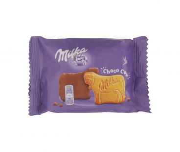 Milka печенье в шоколадной глазурью 40г