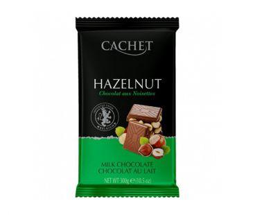 ШБ Шоколад Молочный Cachet Фундук 300гр Бельгия