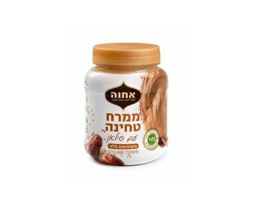Паста арахисовая шоколадная Achva Паста из кунжута с финиковым сиропом 400г