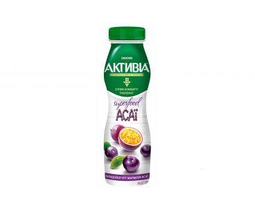 Активия Бифидойогурт 1.5% маракуйя-асаи пэт 290г