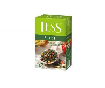 Чай Чай зеленый рассыпной Тесс TESS Flirt 90 г