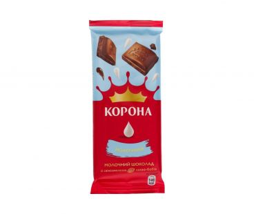 Корона Шоколад молочный 85г