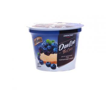 Danone Десерт Даниссимо Черничный чизкейк 6% ст 230г