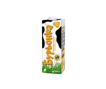 Буренка Молоко ультрапастеризованное 2,5% 1л