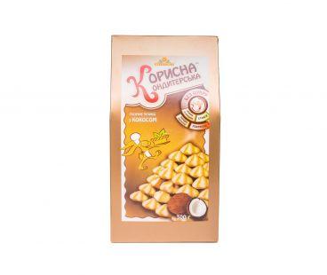 Корисна кондитерська печенье кокос 300г