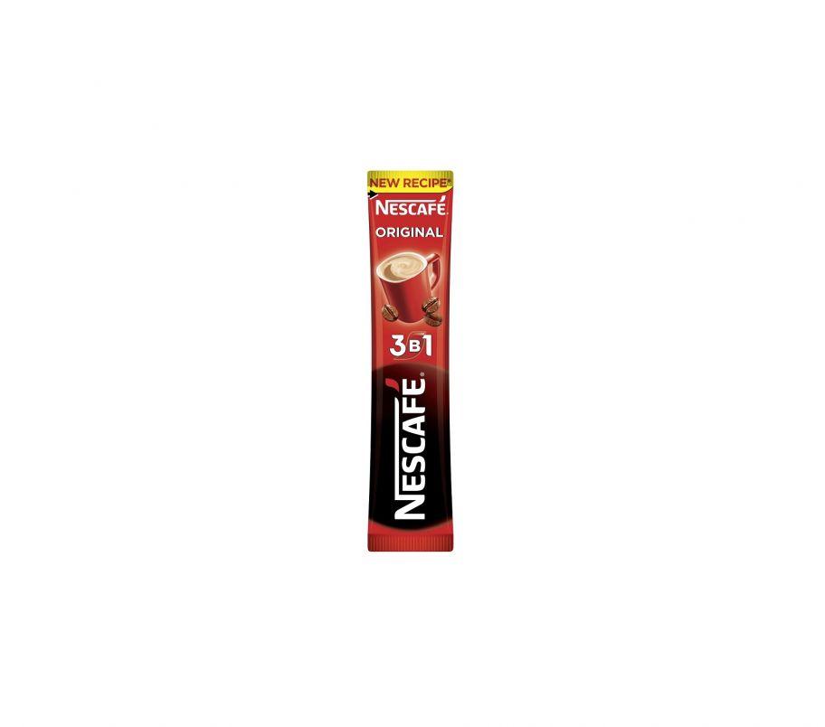 Кофейный напиток Nescafe  Оригинал 3 в 1( 1 шт)